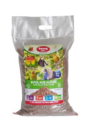 Bonny Nice Organik Çam Pelet Evcil Kuş Altlığı 5 Kg 9 L