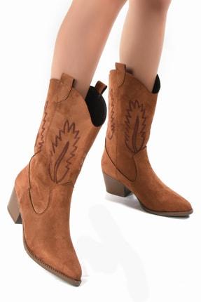Sapin Kadın Kahverengi Kovboy Çizme 33611