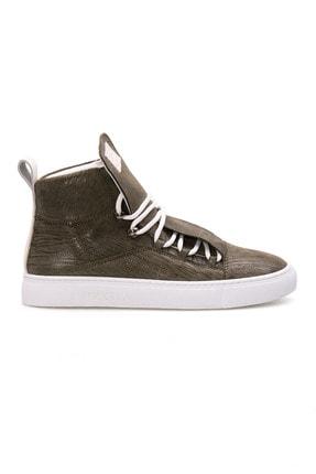 Pegia Kadın Haki Hakiki Deri Sneaker La1313