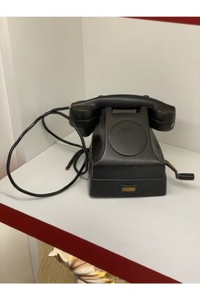 ANTİKSÜS Antika Çevirmeli Telefon 1900 Yapımı