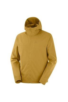 Salomon Erkek Sarı Outdoor Ceket