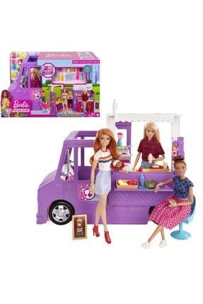 mattel Barbienin Yemek Arabası Oyun Seti