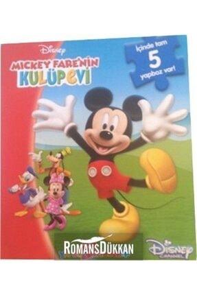 Doğan Egmont Disney Mickey Fare'nin Kulüpevi Mini Yapboz Kitabım