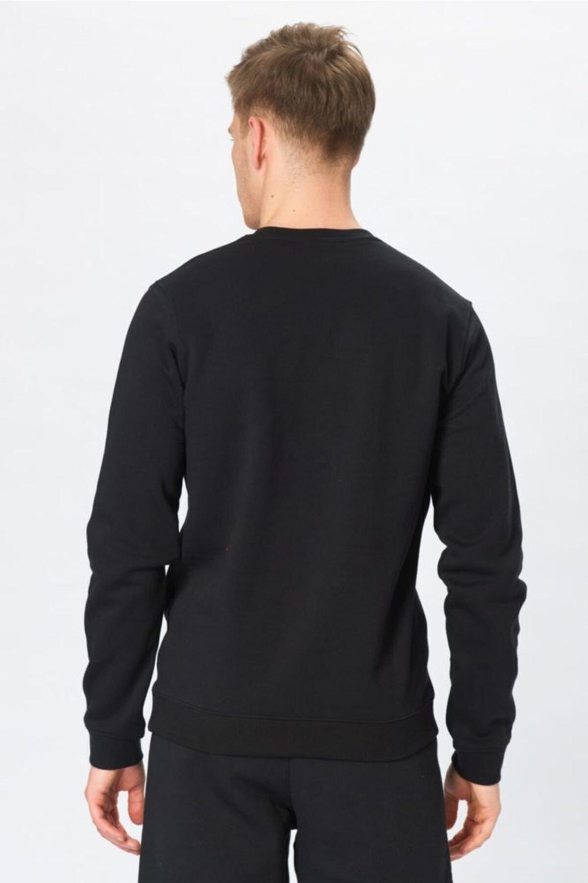 Nike Erkek Siyah Sweatshirt - M Crw Flc Tm Club19 - AJ1466-010 2