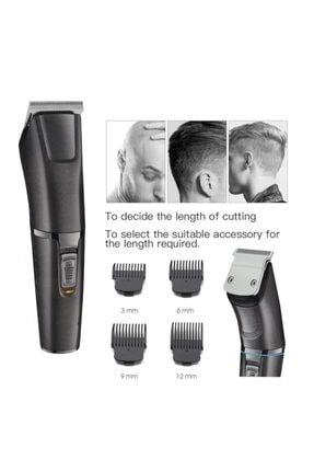 Eragon Profesyonel Şarjlı Saç Sakal Kesme Tıraş Makinesi Seti