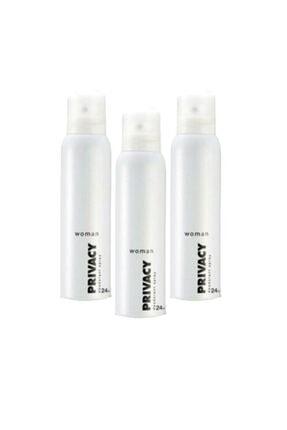 Privacy Woman Classic 150 Ml Deodorant X3