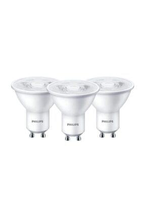 Philips Led Ampul 3,2-40w Gu10 Duy Çanak Spot Ampul Gün Işığı-3 Adet