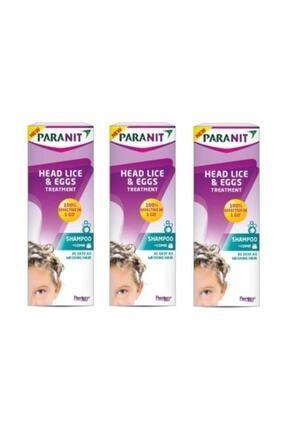 Paranit Baş Biti Ve Sirke Tedavisi Şampuan 3 Kutu 100 Ml.
