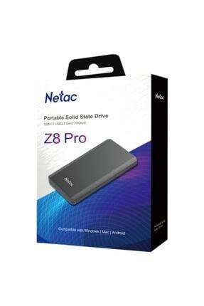 Netac Z8 Pro 500gb Taşınabilir Ssd Nt01z8pro-500g-