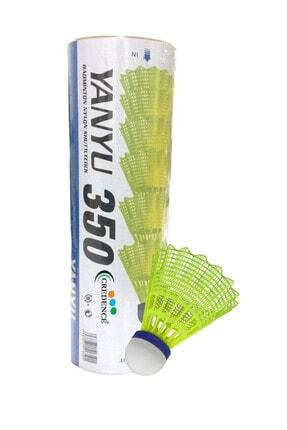 YANYU 6 Lı Badminton Topu Sarı - 350
