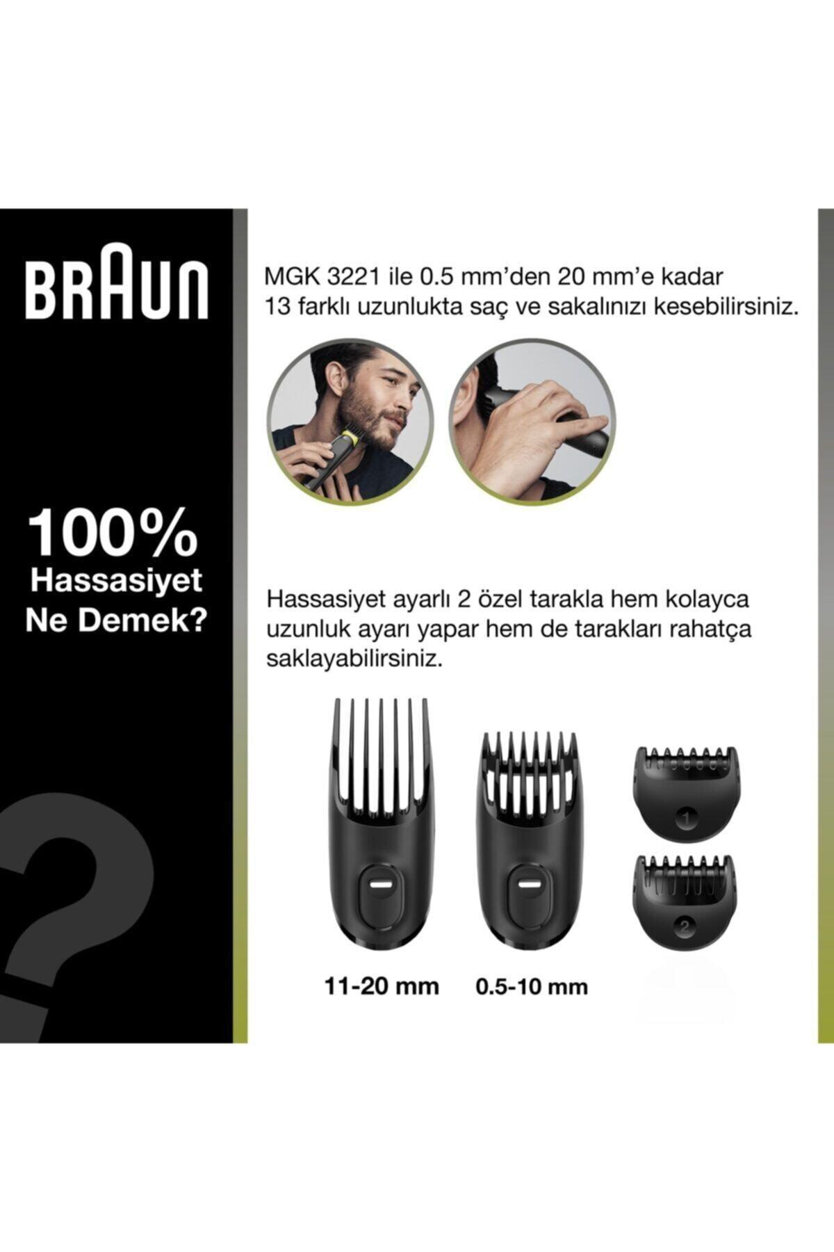 Braun Mgk 3221 Çok Amaçlı Tıraş Makinesi 2