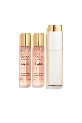 Chanel Coco Mademoiselle Twist & Spray Edp 3x20ml Kadın Parfüm