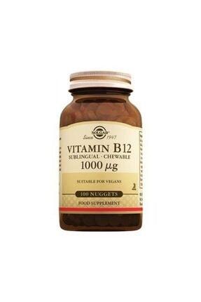 Solgar Vitamin B12 1000 Mg 100 Tablet