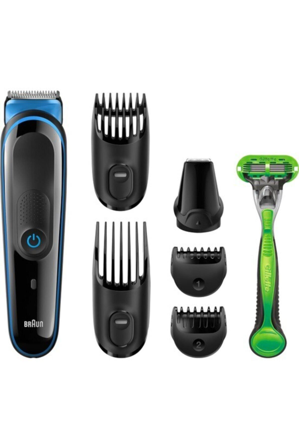 Braun Mgk 3040 Şarjlı Tıraş Saç Sakal Kesme Makinesi 7 In1 1