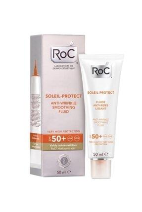 Roc Soleıl Protect Kırışık Karşıtı Korumalı Likit Yüz Nemlendiricisi Spf50 50ml