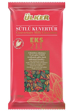 Ülker Sütlü Kuvertür Çikolata Eks. 211 2500 G