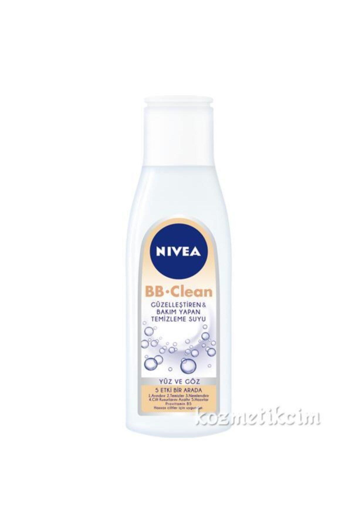 Nivea Bb Clean 5 In1 Yüz Ve Göz Hassas Temizleme Suyu 200 ml 1