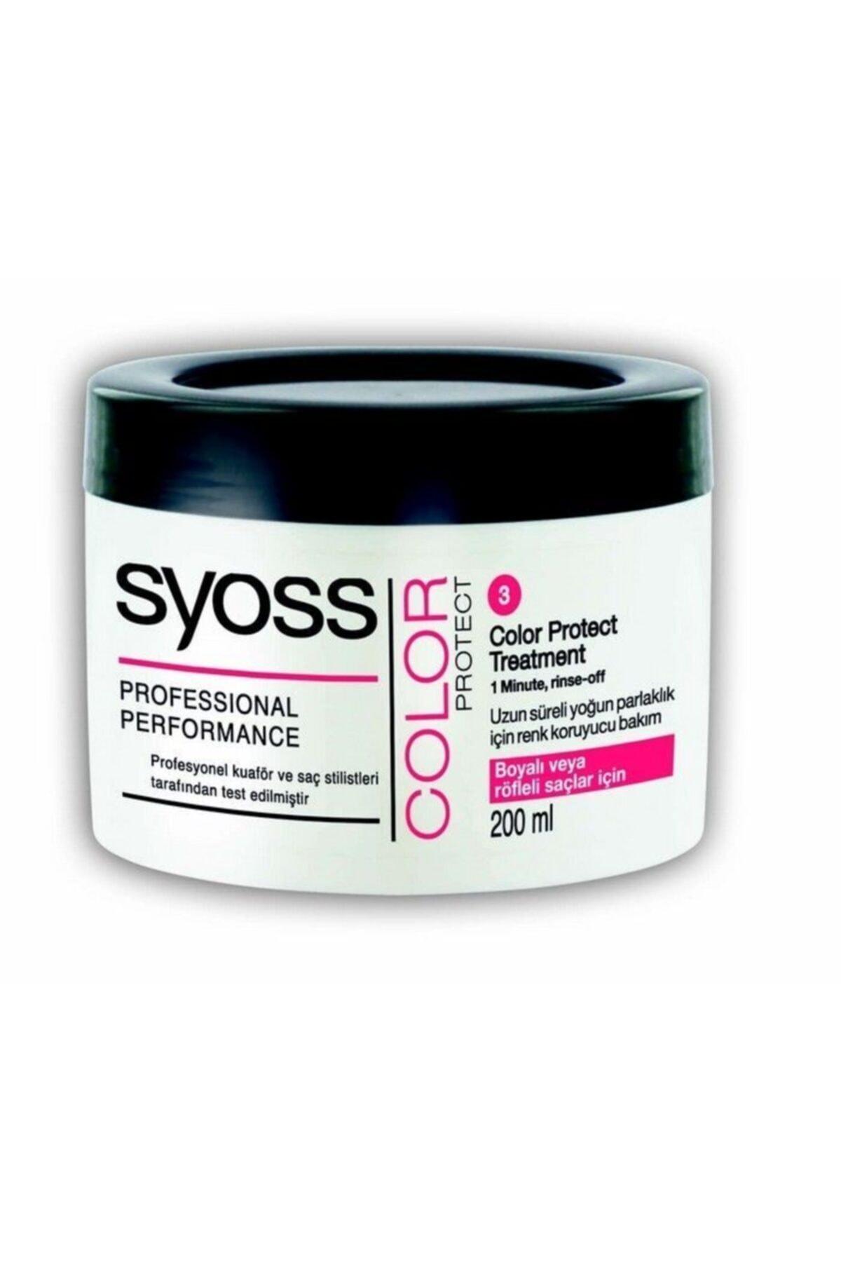 Syoss Renk Koruyucu Saç Bakım Kremi 200ml Maske 1
