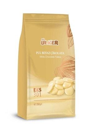 Ülker Fildişi Pul Kuvertür Çikolata Eks 301 2,5 Kg