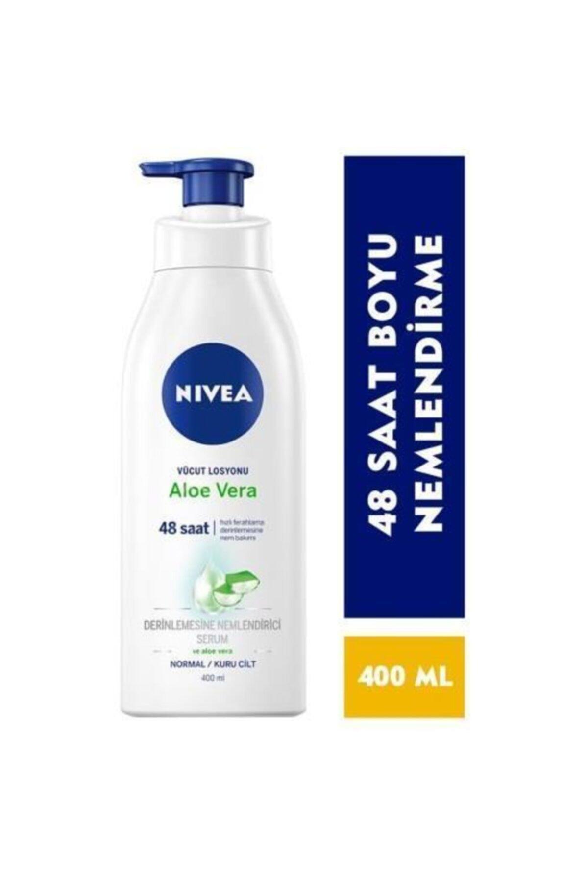 Nivea Nıvea Vücut Losyonu Aloe Vera Özlü 400 Ml 1