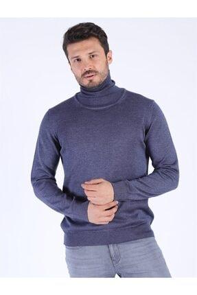 Twister Jeans Erkek Slım Fıt Et 3623 (t) Indıgo Melanj Kazak