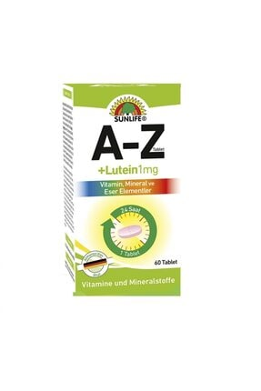 Sunlife A-z +lutein 60 Tablet