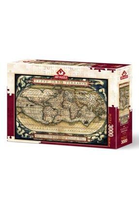 Art Puzzle Ilk Modern Atlas,1570 3000 Parça Puzzle