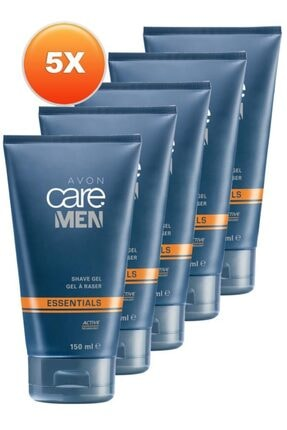 AVON Care Men Tıraş Jeli 150 Ml. Beşli Set