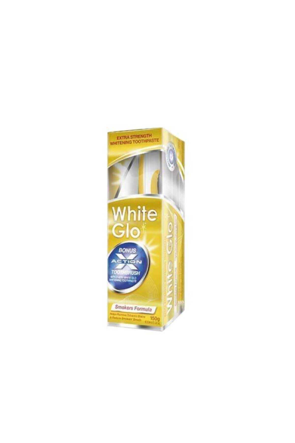 White Glo Sigara Lekelerine Karşı Beyazlatıcı Diş Macunu 100 ml 1