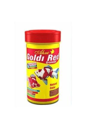 Ahm Goldi Red Granulat 250ml Japon Balığı Yemi