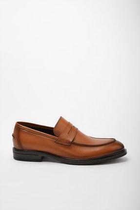 Hotiç Hakiki Deri Taba Erkek Loafer Ayakkabı 02AYH190560A370