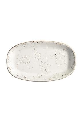 Bonna Porselen Grain Gourmet Oval Kayık Tabak 24*14 cm
