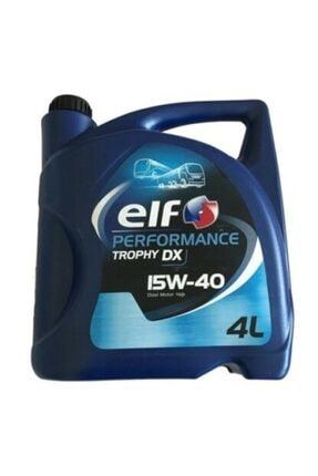 ELF Performance Trophy Dx 15w40 4 Lt Motor Yağ