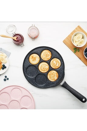 Karaca Mutfaksever Biogranit Grey Pankek Tavası
