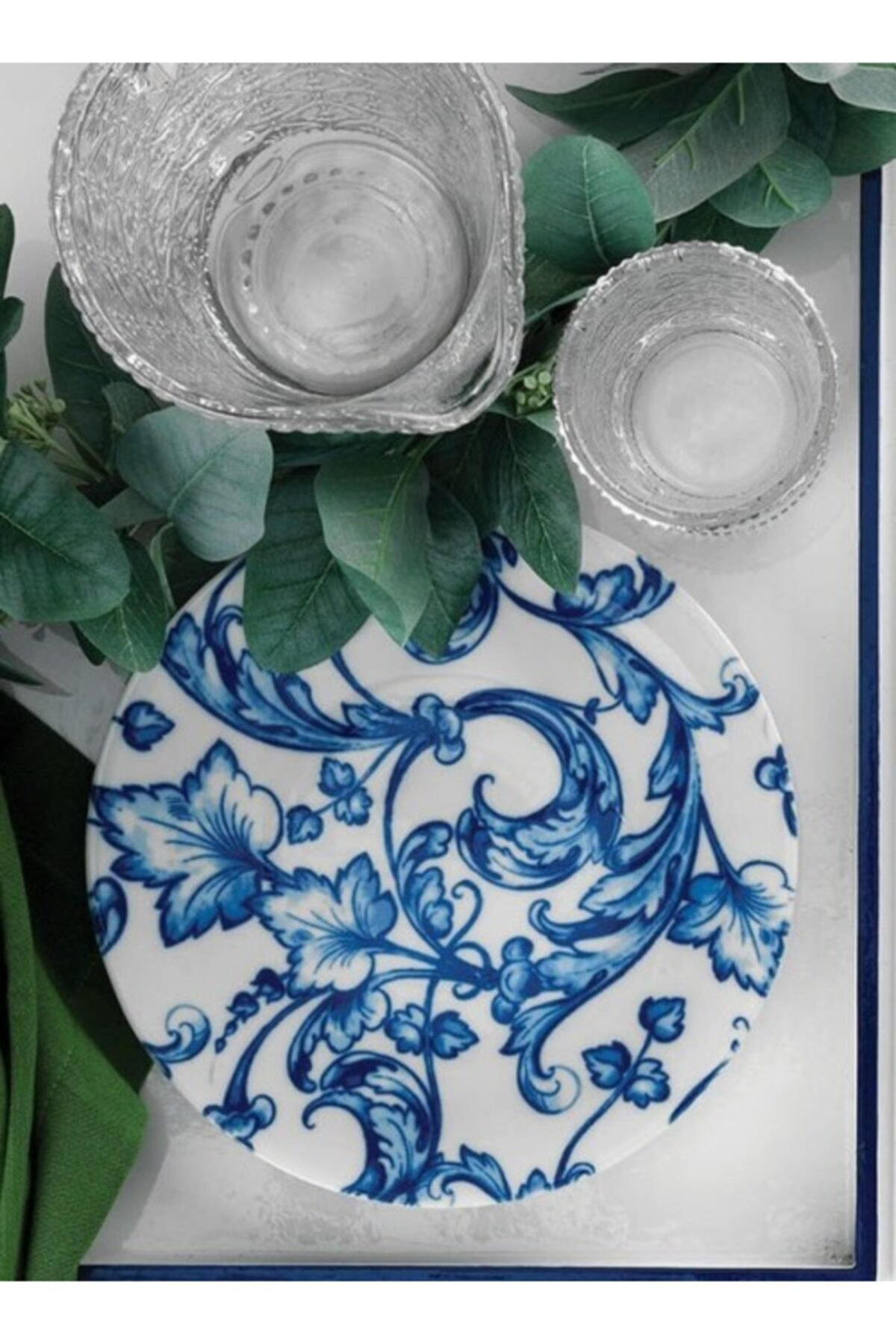 Kütahya Porselen Servis Tabağı 26 cm 6 Adet 880088 1