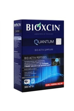 Bioxcin Quantum Bio-activ Saç Dökülmesine Karşı Şampuan - Kuru / Normal Saçlar 300ml