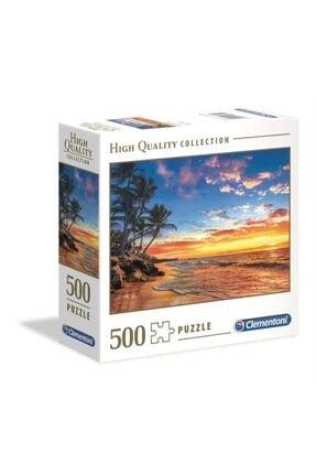 CLEMENTONI 500 Parça Puzzle Paradise Beach