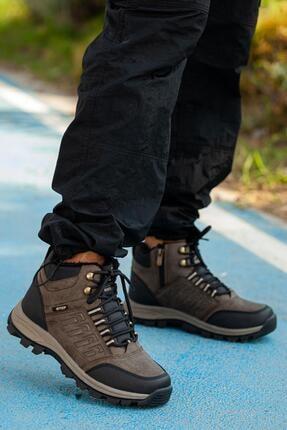 MUGGO Unisex Bej Outdoor Ayakkabı DPRMGMSTPX6