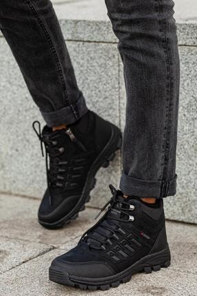 MUGGO Unisex Siyah Outdoor Ayakkabı DPRMGMSTPX6