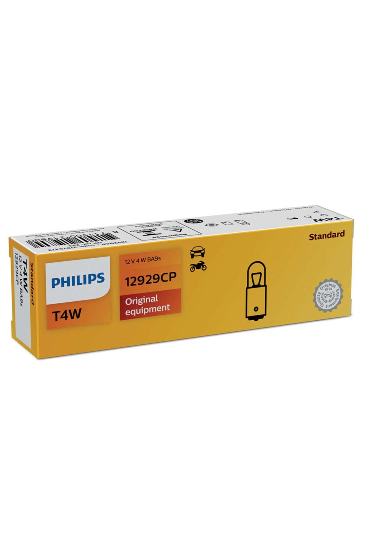 Philips Stop Sinyal Ampulü Ampul 53 12v 4w 12929cp - 10 Adet 1