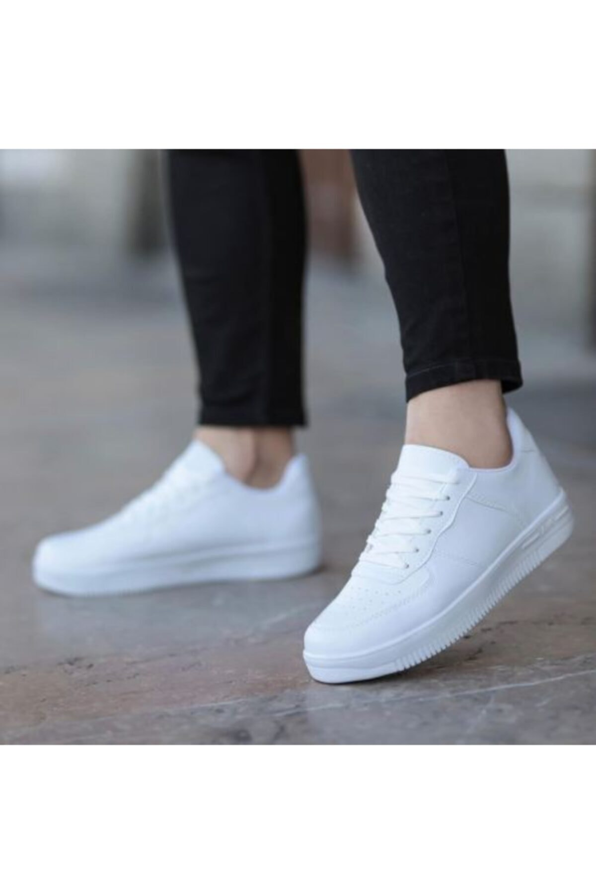 Goldex Kadın Beyaz Spor Ayakkabı 1