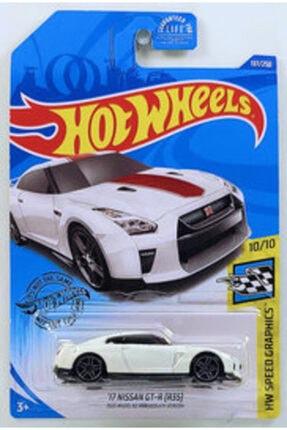 HOT WHEELS Tekli Arabalar 17 Nissan Gt-r (r35) Oyuncakları Ghc83