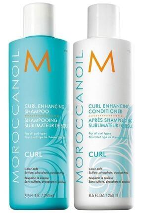 Moroccanoil Curl Bukle Yapılandırıcı Şampuan 250ml + Krem 250ml 2li Set