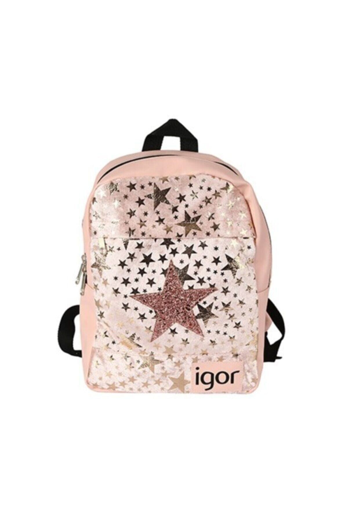 IGOR Kız Çocuk Pembe Star Okul Sırt Çanta  W80313 1