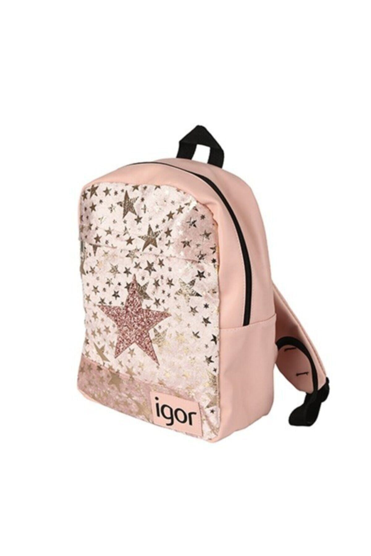 IGOR Kız Çocuk Pembe Star Okul Sırt Çanta  W80313 2