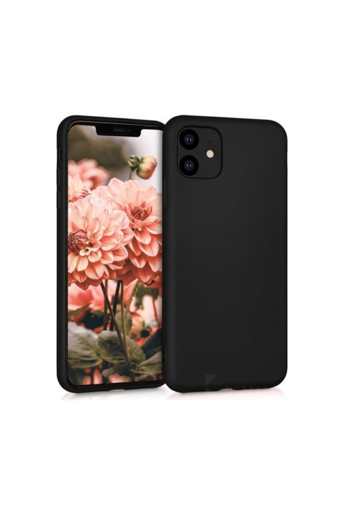 Zengin Çarşım Iphone 11 Yumuşak Silikon Kılıf Siyah 1