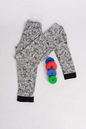 Hays Erkek Çocuk Gri  Pijama Takımı