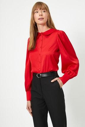 Koton Kadın Kırmızı Gömlek 0YAK68074PW