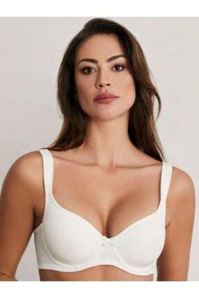 Eros Kadın Ekru Toparlayıcı Lily Boş Kap Sütyen Ersk100