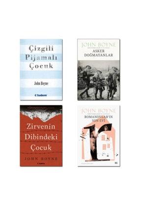 Tudem Yayınları John Boyne Seti 4 Kitap Çizgili Pijamalı Çocuk Asker Doğmayanlar Zirvenin Dibindeki Çocuk